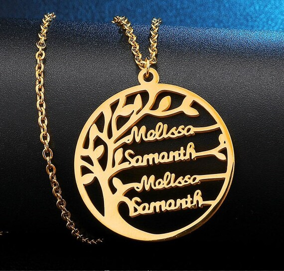 Personalized  Name Necklace-Name Necklace-Family Name Necklace-Custom Name Necklace-Gift For Women-Birthday Gift-#NN-38