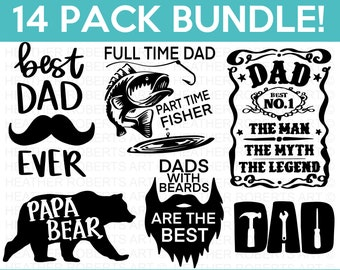 Silhouette Cricut Cut File Father/'s Day SVG Papa Bear SVG Family Dad Life Dad Design Father SVG Kids Quote Papa Dad svg Newborn