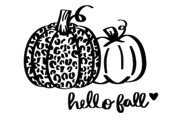 fall svg for shirts