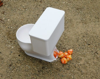 Dice Tower, Dice Flusher, Toilet