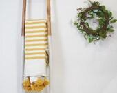 Beautiful Moroccan Pom Pom Blanket Throw, Handwoven cotton blanket, bedroom blanket