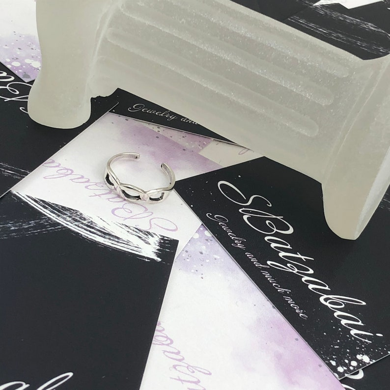 Toe Filigree DesignRing Sterling Silver Toe Ring \u2022 adjustable toe ring