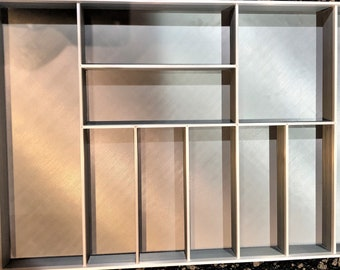Custom Drawer Organizer, 100% made to your specifications, Utensil Drawer Organizer