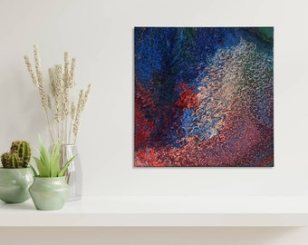 Abstract acrylic image