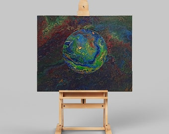 Abstract Image Planet