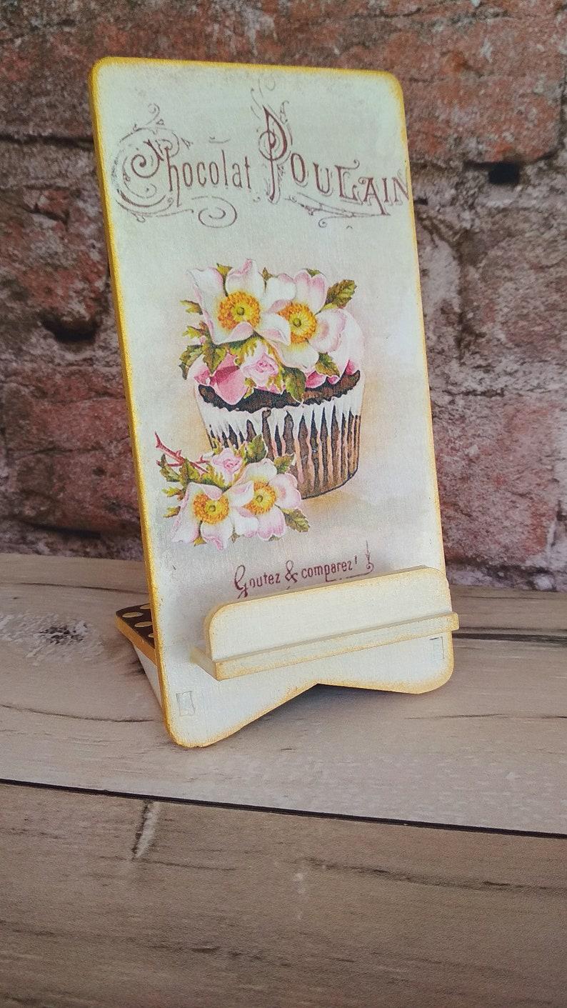 Phone Stand \u0421ake Handmade Decoupage