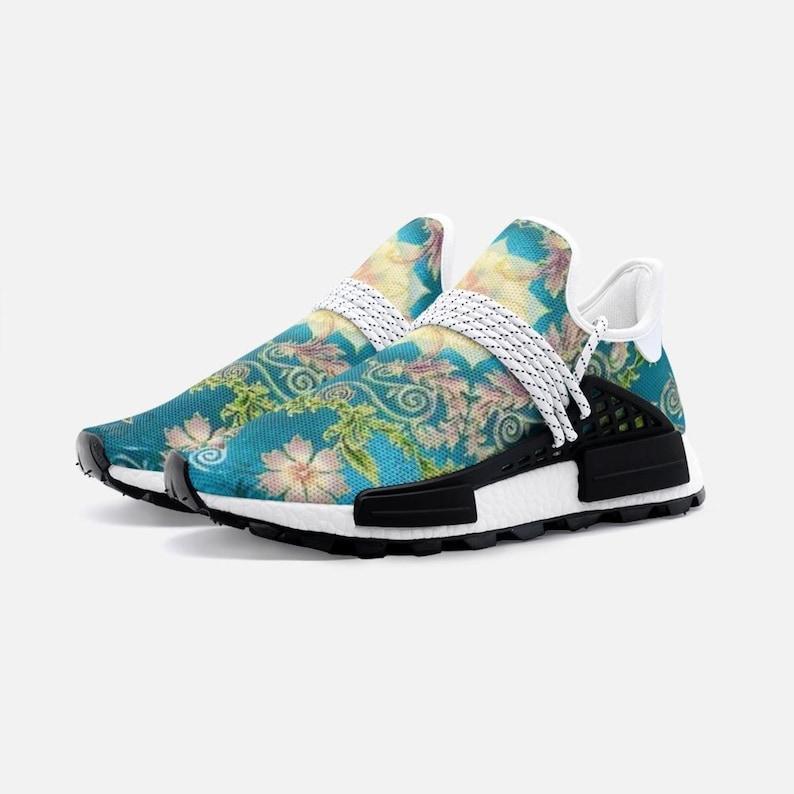 Sneakers personalizzate decorate Floral Print Scarpe JNP3bGB7