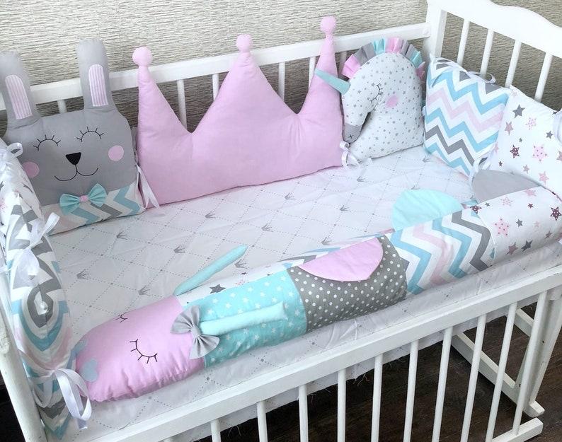 DIY Crib Bumper Pattern Easy to Make pdf braided crib   Etsy