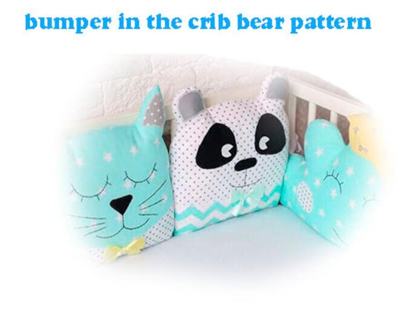 DIY Crib Bumper Pattern Easy to Make pdf bumper in crib   Etsy