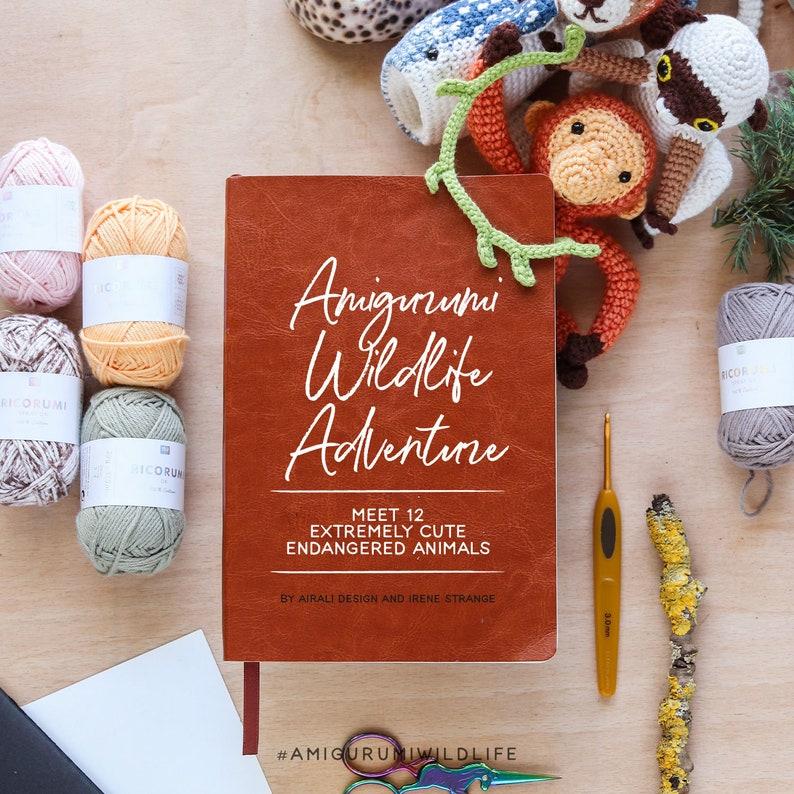 Amigurumi Wildlife Adventure eBook  12 cute endangered image 0
