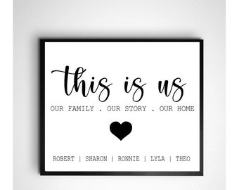 Family Quote Print Etsy