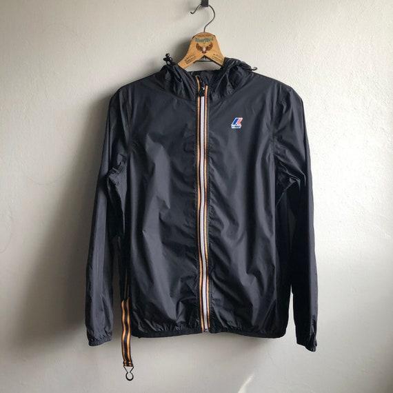 K-Way Zip Front Jacket.