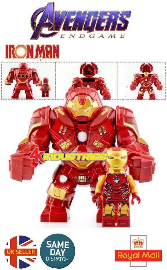 Avengers War Machine Mini Figure HulkBuster Iron Man End Game Marvel UK Seller