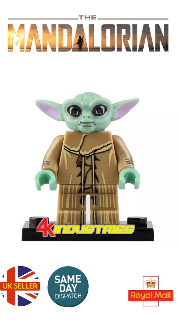 Baby Yoda /& Beskar Mandalorian Mini Figures Star Wars Mando The Baby UK Seller