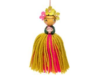 VIVA LA FRIDA! Limited edition Little Edie Beady x Peggy Dollface collab. Frida Kahlo kids room wall décor, inspirational women décor