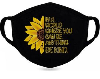 Sunflower Mask Etsy