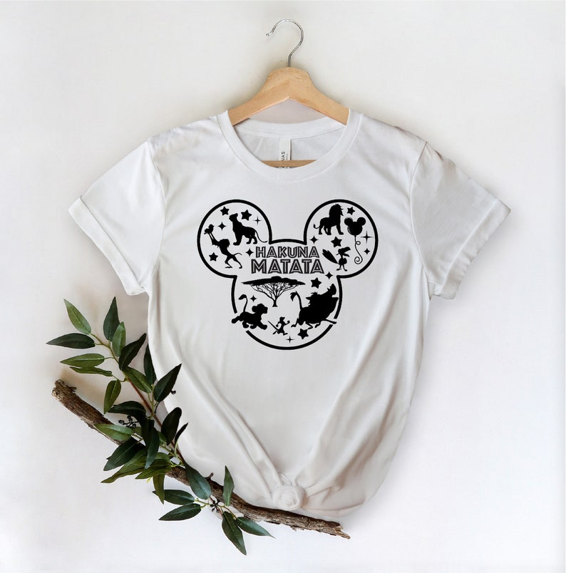 Gearhuman – Hakuna Matata Shirt Disney Shirts Animal Kingdom Shirt  –  Tshirt
