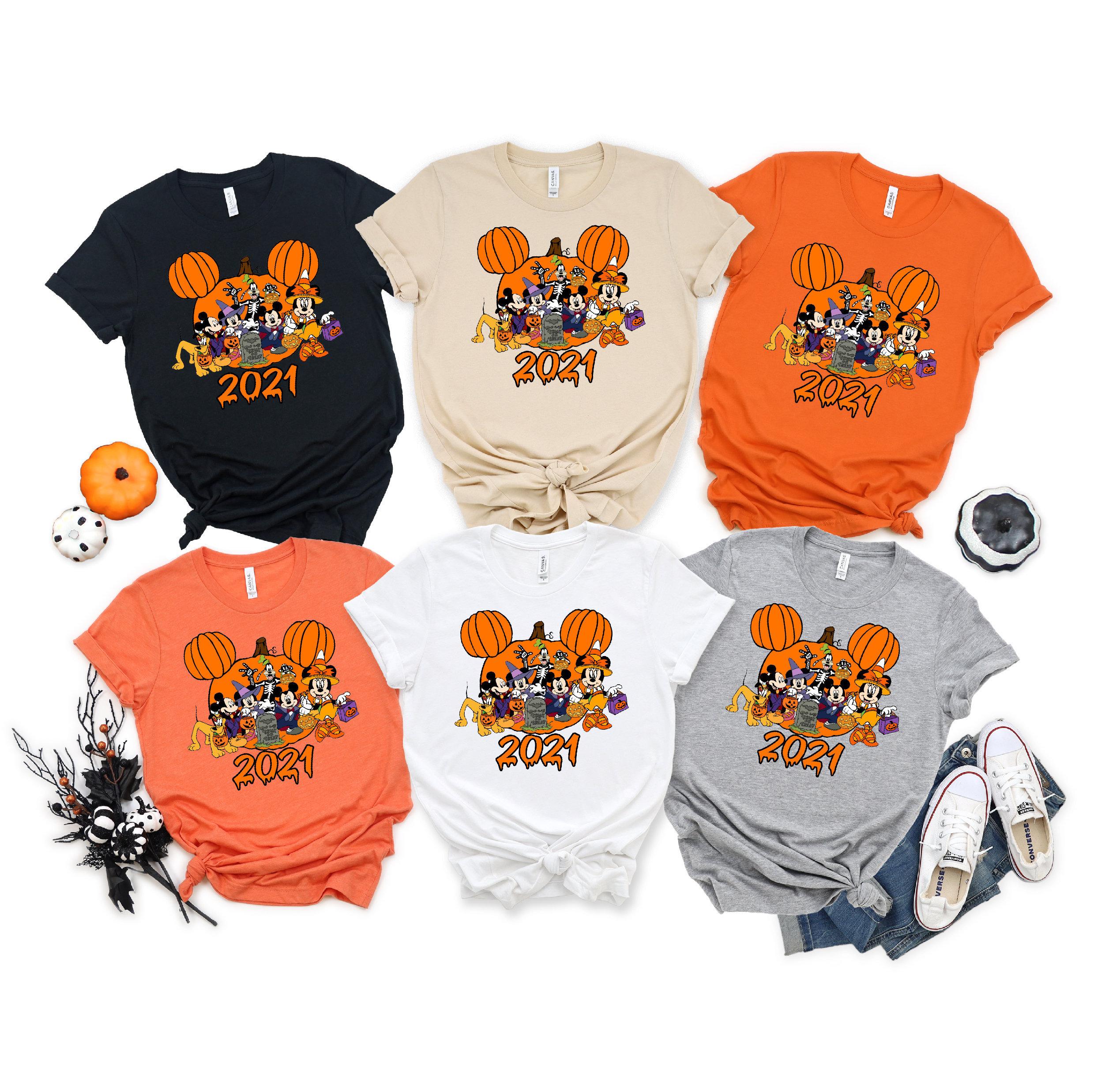 Disney Halloween Shirt, Halloween Matching Shirts, Halloween Shirt, Halloween Mickey Minnie Shirt, Halloween Couple Shirt,Gift For Halloween
