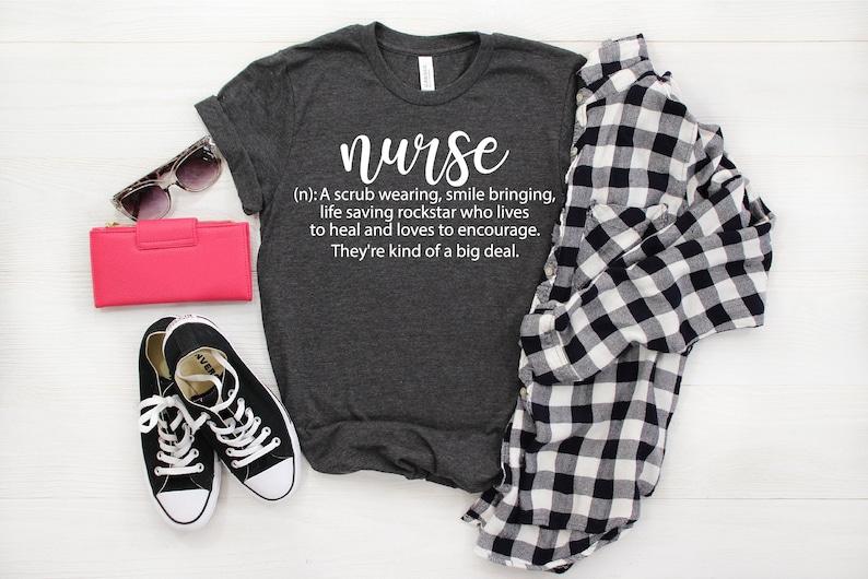Gearhuman – Nurse Definition Shirt Nursing School Shirt Nurse Tshirt  –  Tshirt