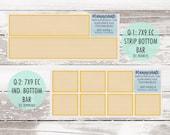 50% Sale! MK-228 Add-Ons || DAISIES Kit Planner Stickers - 2020 Mini Kits photo