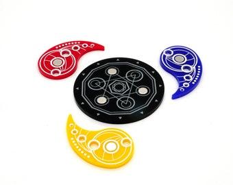 Magnetic Key Set - KeyForge Acrylic Tokens