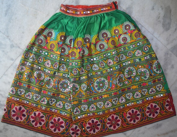 Kutch Embroidery Skirt