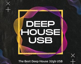 Deep House 32gb - 2,093 Files - All 320kbps - Full Length & Unmixed Tracks - MP3s! CDJ, DJ friendly, house music, dance, DJs,rave,deep house