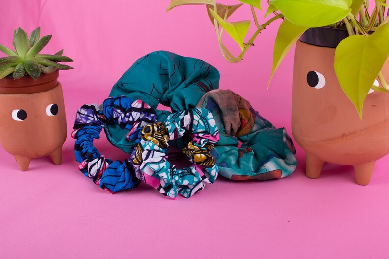 The Ultimate Colourful Scrunchie Bundle  Traditional African image 0