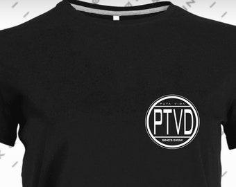 Women's T-Shirt Short Sleeve Black MODEL ESCUDO