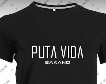 Women's T-Shirt Short Sleeve Black MODEL BAKANO