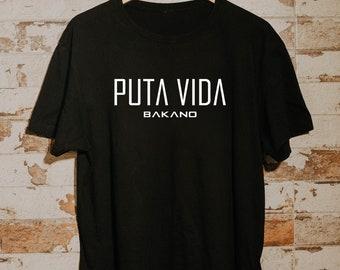 Black Short Sleeve T-Shirt MODEL BAKANO