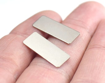 10 Pcs 15x15mm Rhodium Plated Pendant Flat Square Charm Rectangle Charm Square Blank Silver Plated Findings FRY103 FQC