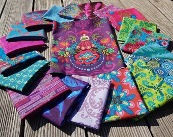 MagiCountry by Odile Bailleoul Bundle with 19 FQ + fairy fabrics - a total of 5 meters Free Spirit fabrics