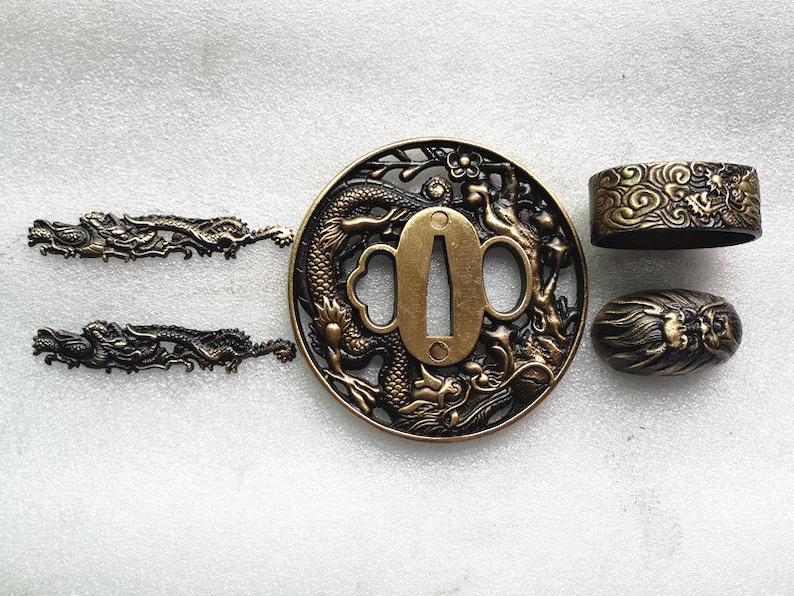 Brass,handguard,japanesesword,katana,Samurai,sword,fittingsampadapter,Alloy,samuraisword,tsuba