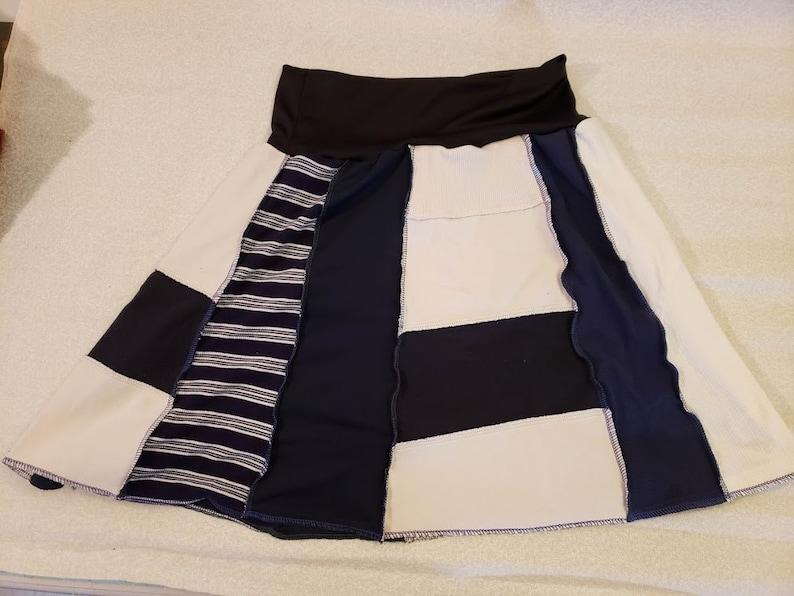 Large Upcycled Skirt #6
