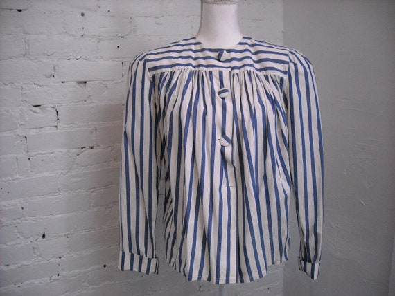 Angela Holmes Droopy & Browns Vintage Blouse Pleat