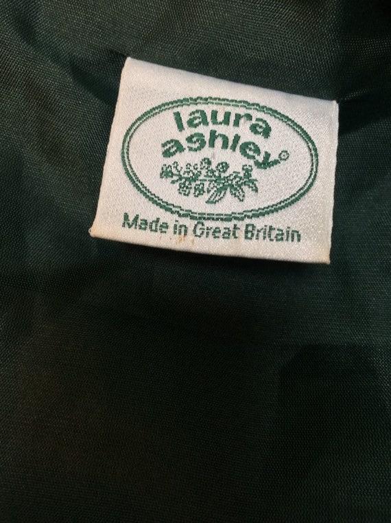 Laura Ashley Vintage 90s Sleeveless Dress Pleated… - image 10