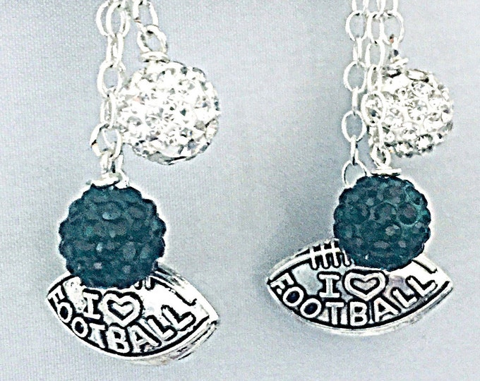 Interchangeable MSU Earrings - Go Green, Michigan State Earrings, Football Earrings, sports earrings