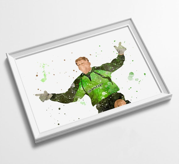 Frame Not Included Various Sizes Available - Minimalist Style Print- Art Peter Schmeichel Football Poster