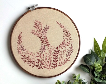Botanical Rebel Cross Stitch Pattern (Digital Instant Download - PDF)