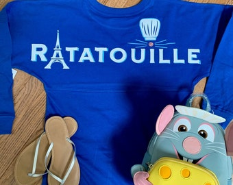 Ratatouille Remy Pom Jersey/Disney Jersey/Anyone Can cook/Remy's Ratatouille Adventure/Disney Trip Shirt/Epcot Food and Wine/Remy