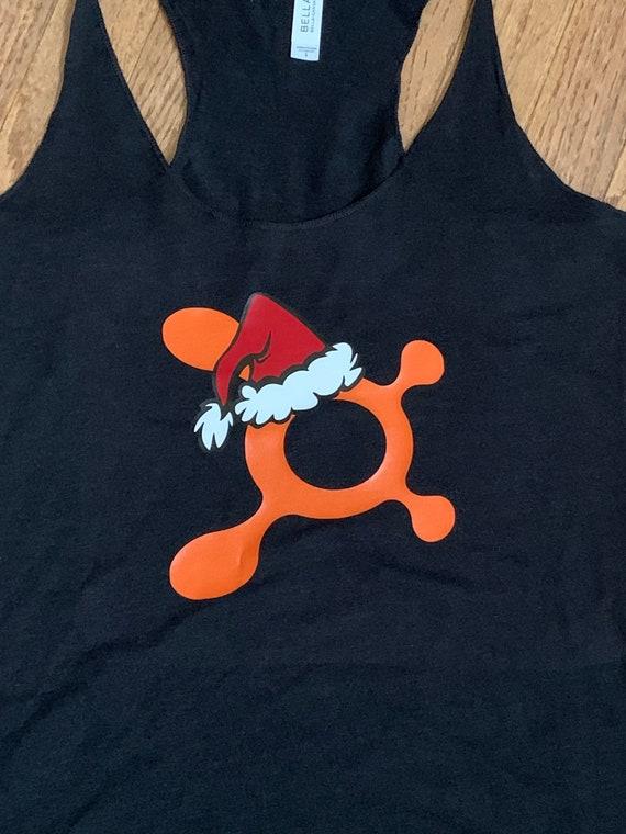 Women/'s Orange Theory Christmas Racerback Tank OTF Holiday Tank Top