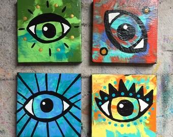 Third Eye Painting Etsy