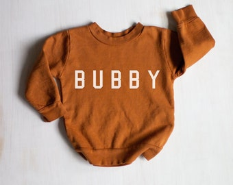 BUBBY Sweatshirt |  BUBBY Crewneck, Toddler Bubby Sweater, Bubby Gift ideas, Gift for Mom, Brother Toddler Sweatshirt