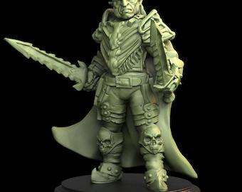 Tytan Troll Miniatures - Monster - Hobgoblin Commander