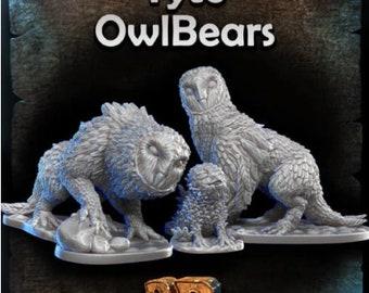 Black Scroll Games - Monsters - Owlbear
