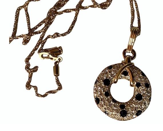 Long Swarovski necklace