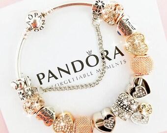 Pandora Bracelet Etsy