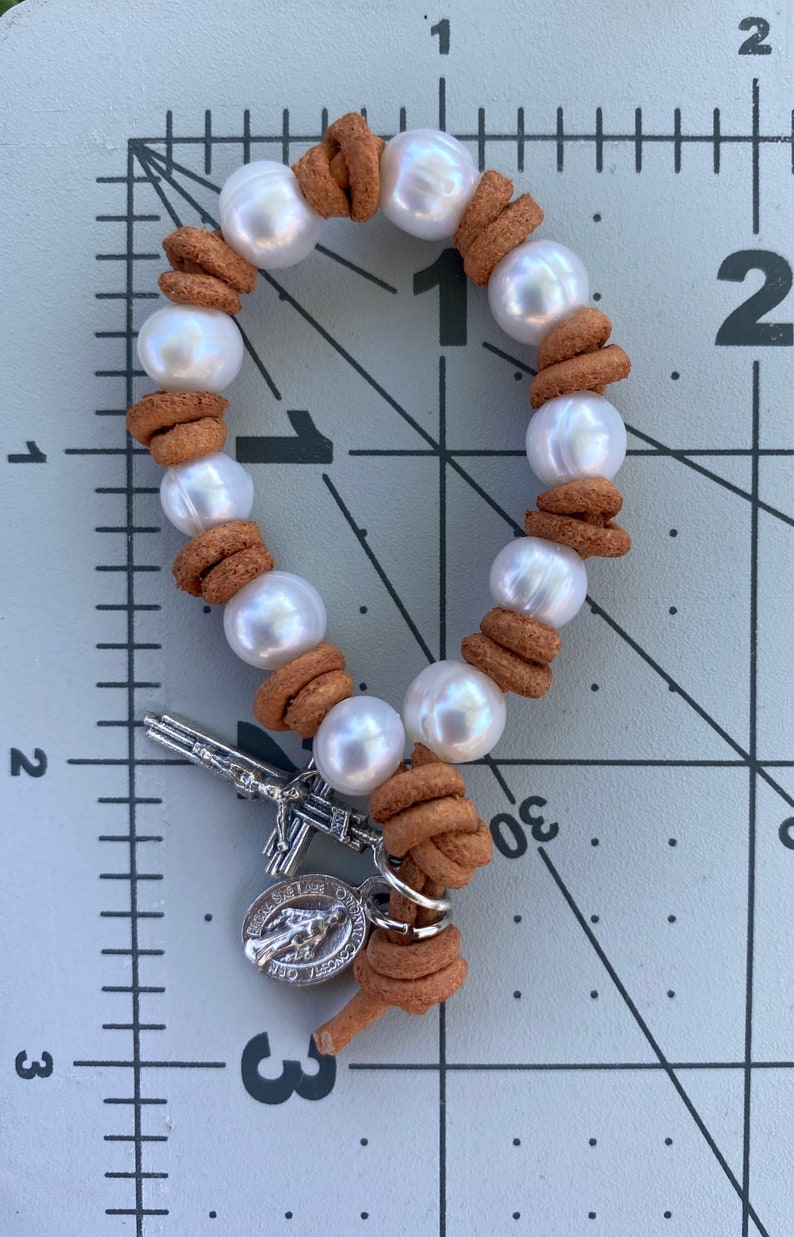 Single Decade Freshwater Pearl Rosary