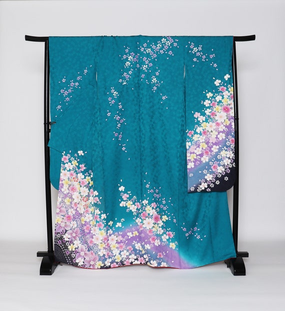 Furisode Kimono, Wedding Kimono, Japanese Kimono R